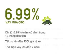 Vay mua ô tô tại VIB chỉ với 6,99%/năm có kết quả trong vòng 4h